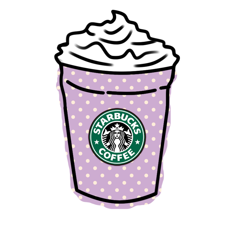 Clipart coffee kawaii. Deviantart more like starbucks