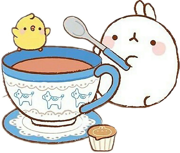 Clipart coffee kawaii. Japan pets animals cute
