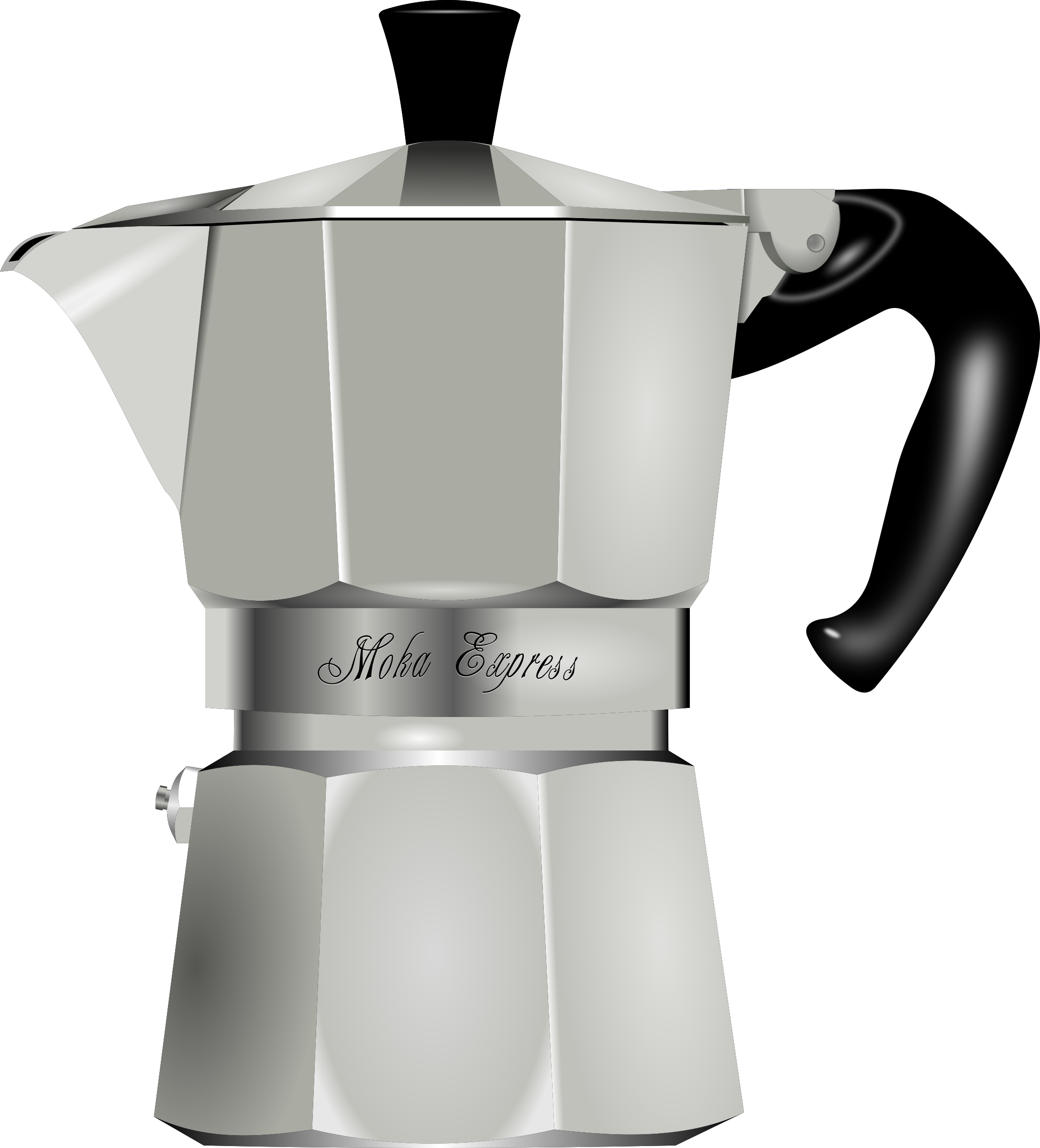 Clipart coffee kettle. Maker big image png