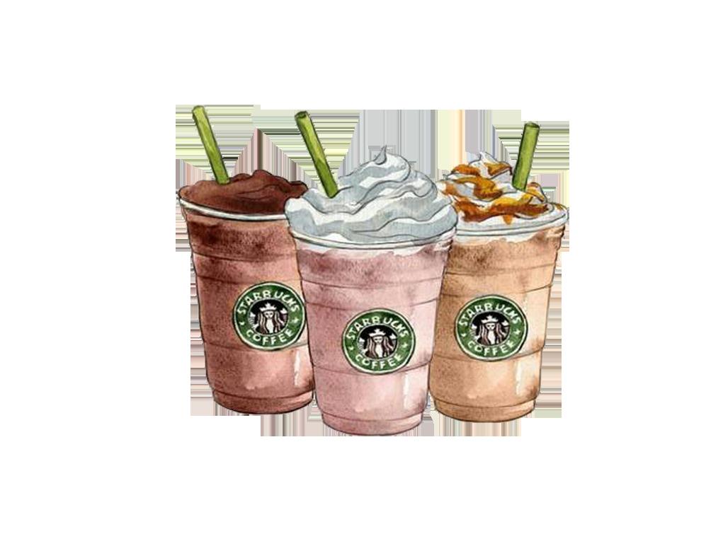 Drawing starbucks frappuccino clip. Coffee clipart milkshake