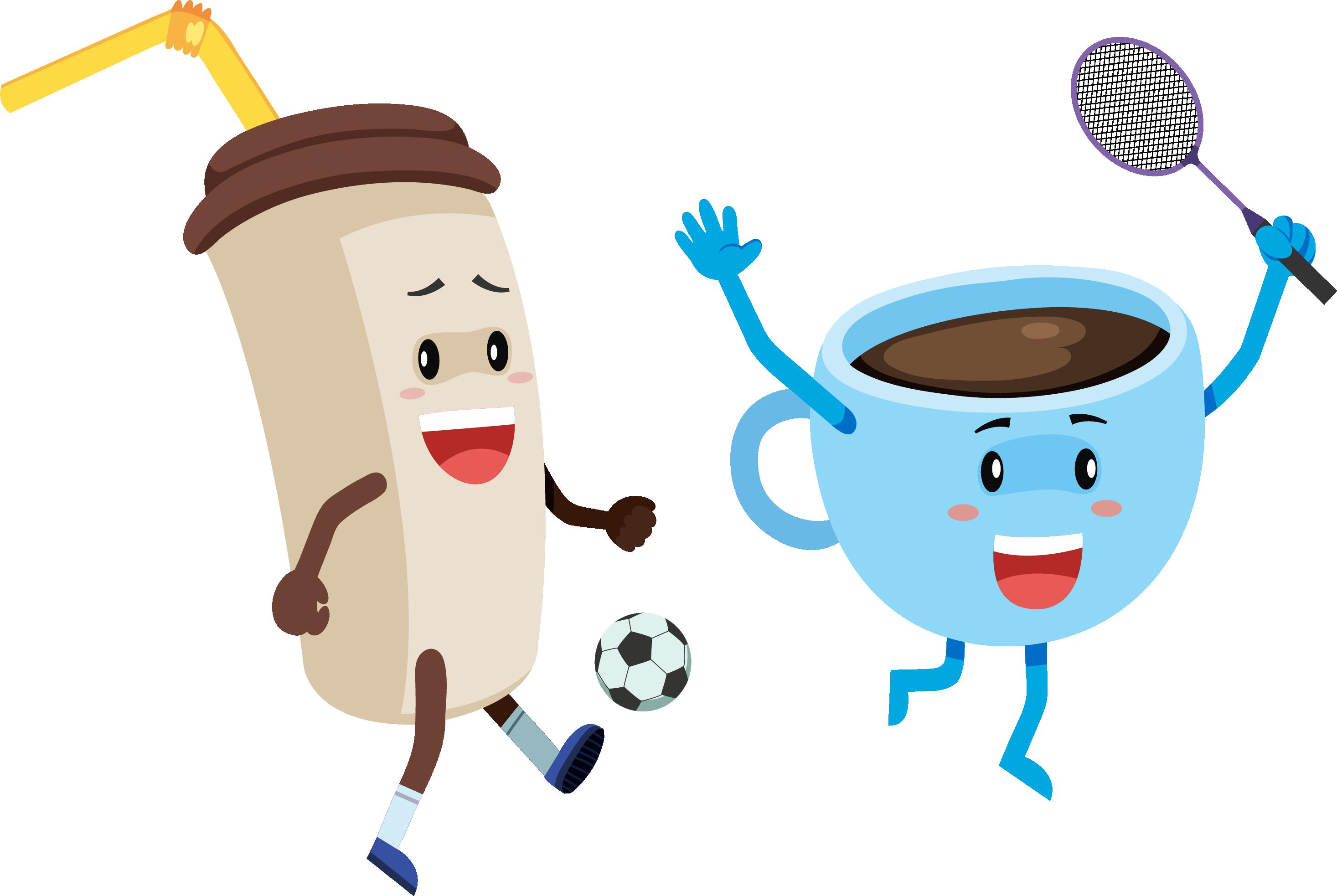 Coffee clipart milkshake. Breakfast cartoon drink clip