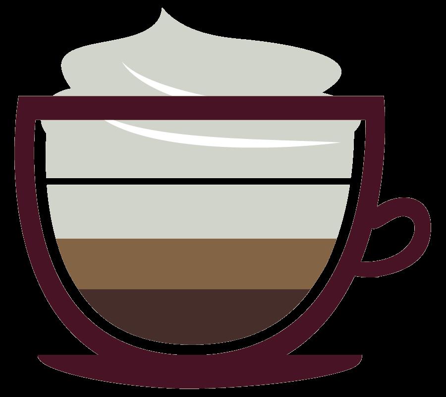 Icon muffin break uk. Clipart coffee mocha