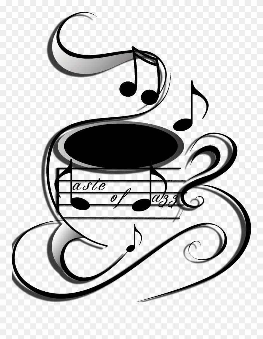 Clipart coffee music. Taste of jazz shop