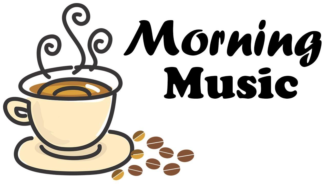 Happy morning bossa nova. Clipart coffee music