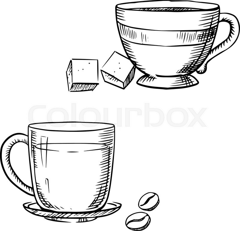X free clip art. Clipart coffee outline