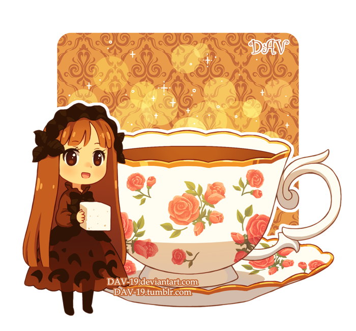 Tea by dav on. Clipart coffee pancake
