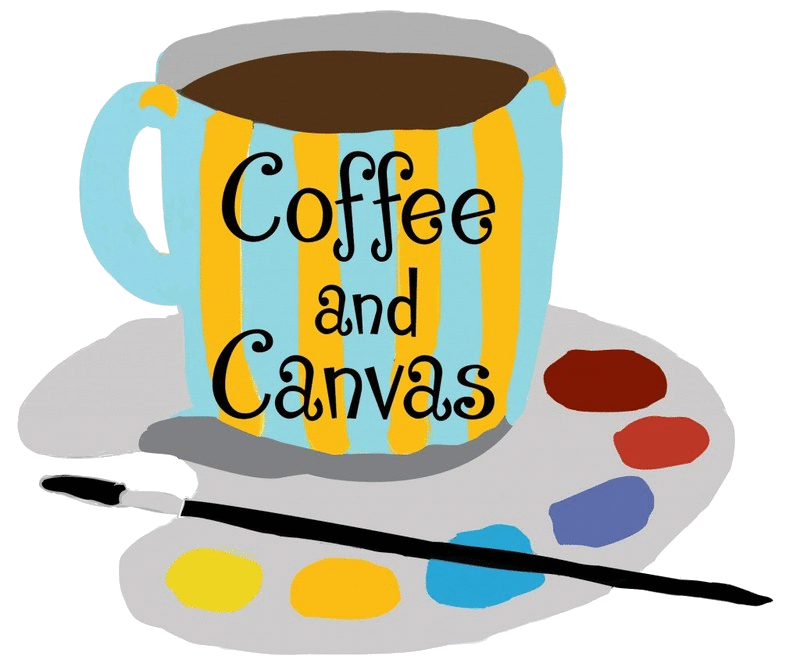 Parties and canvas. Clipart coffee party