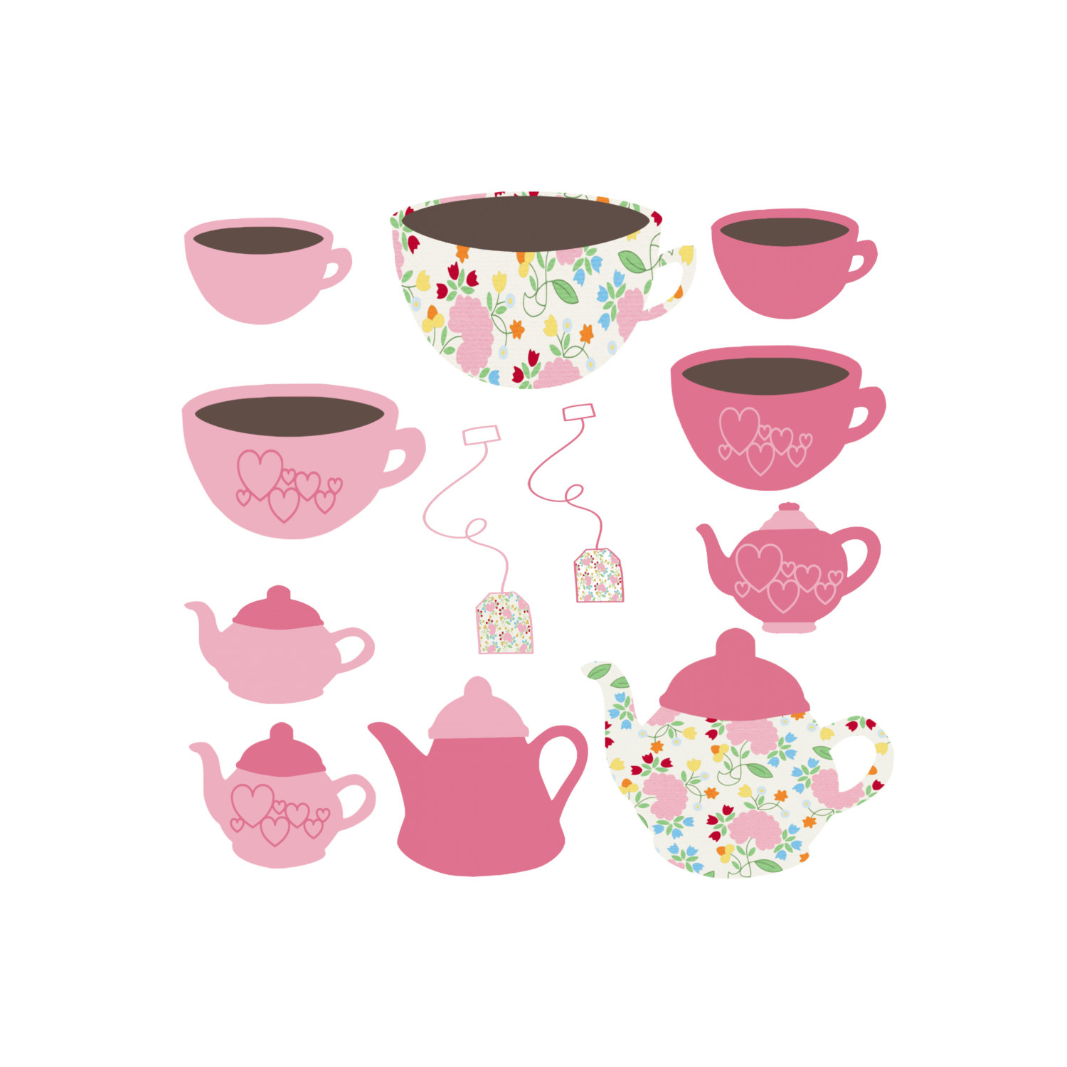 Clipart coffee party. Cliparts zone
