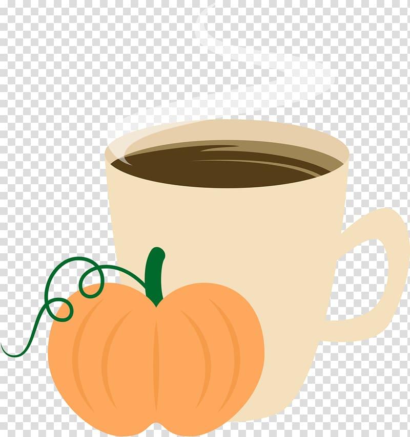 Clipart coffee pie. Cup pumpkin spice latte
