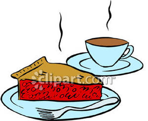 And royalty free picture. Clipart coffee pie