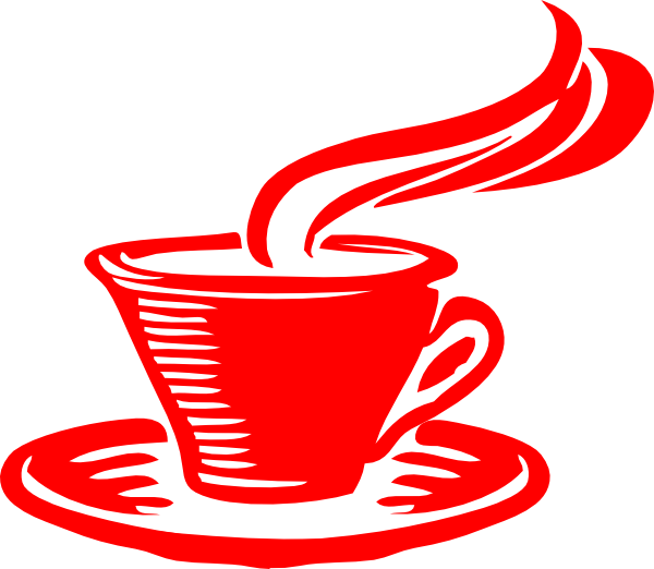 Star clip art at. Clipart coffee red