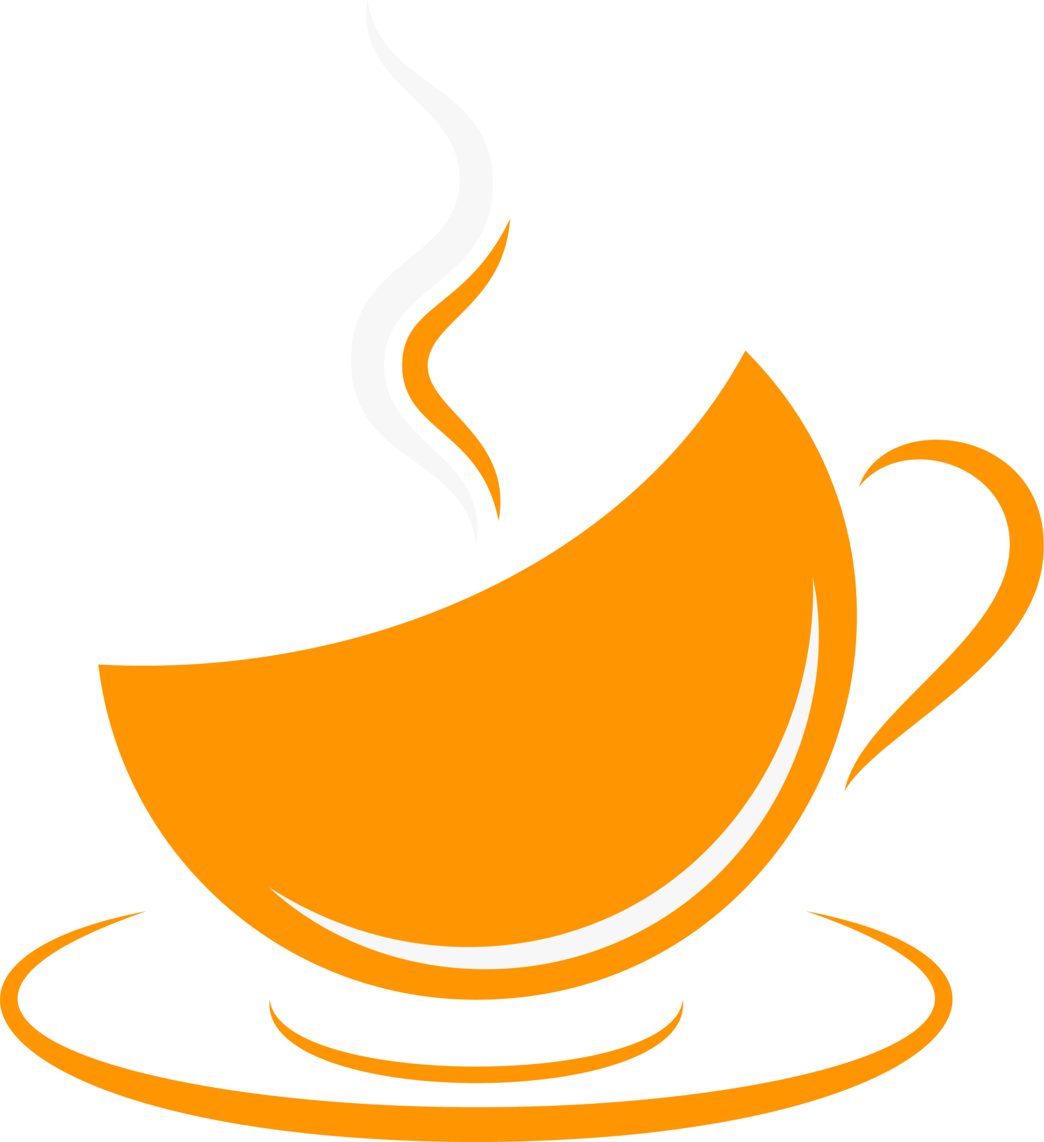 Clipart coffee refreshment. Cup cafe orange clip