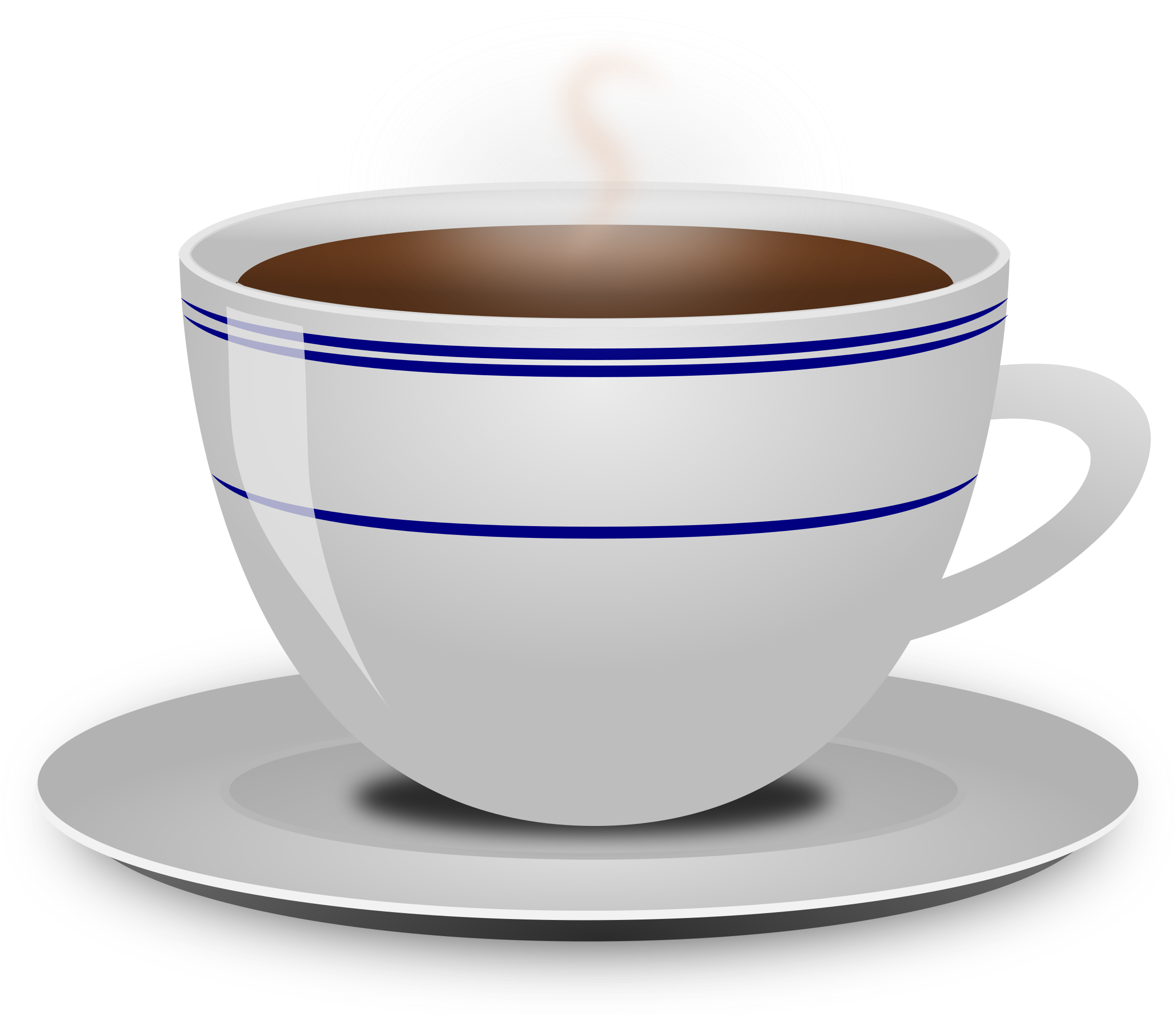Cup of coffee big. Mug clipart steam clipart
