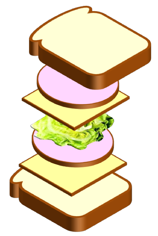 Clipart coffee sandwich. I royalty free public