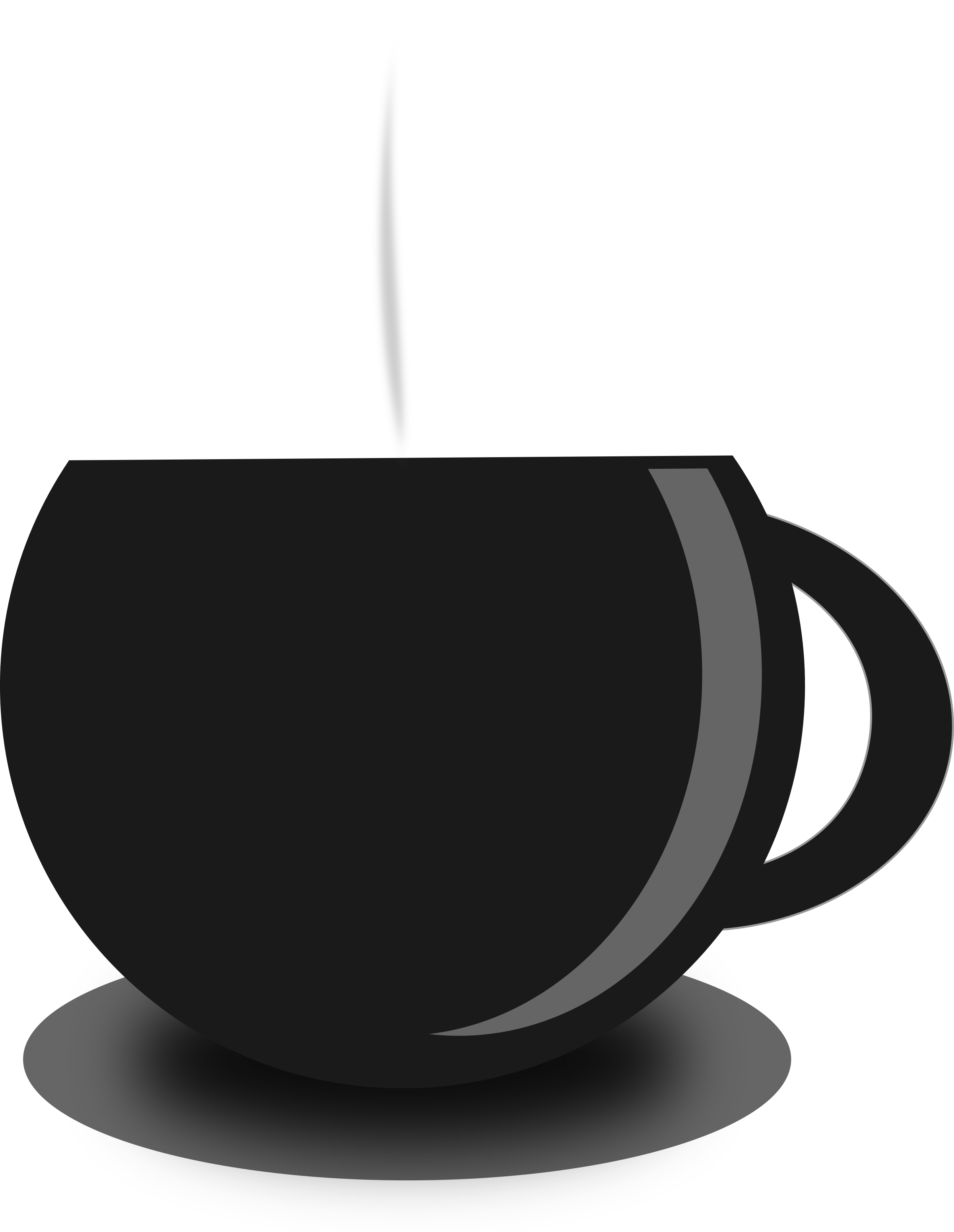 Cup silhouette at getdrawings. Cups clipart anthropomorphic