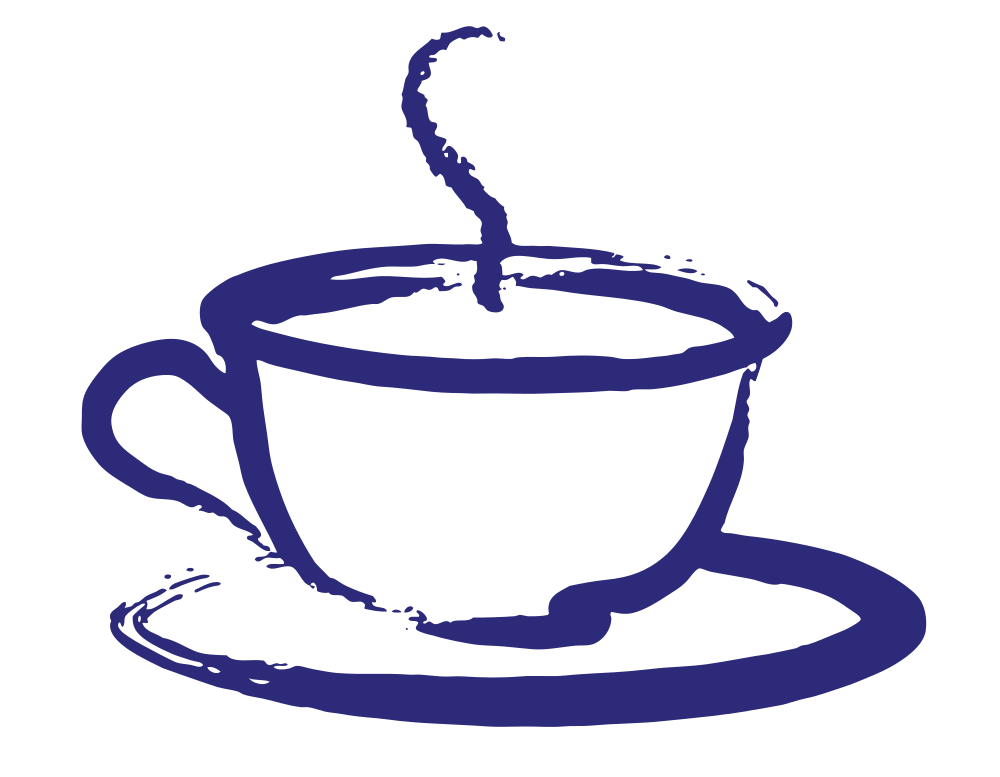 Clipart coffee silhouette. Teacup at getdrawings com
