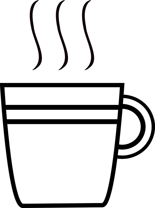 Clipart coffee smoke. Cup of simple wallpaper