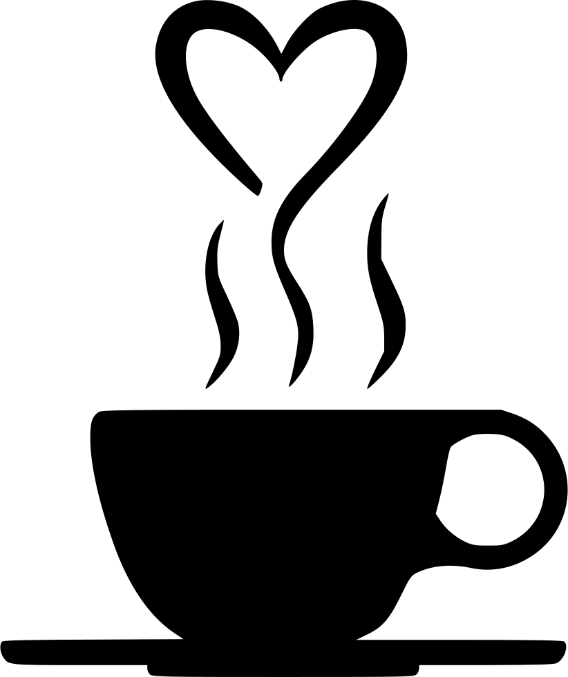 collection of heart. Clipart coffee smoke
