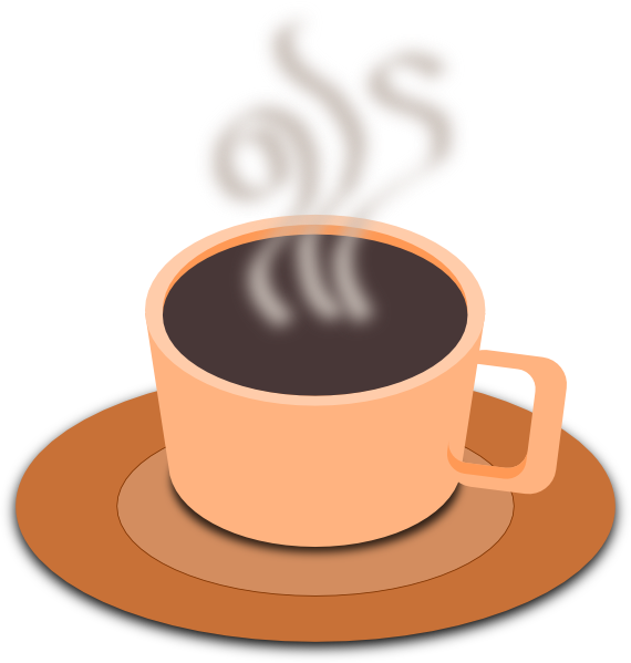 Clipart coffee tea coffee. A cup of hot