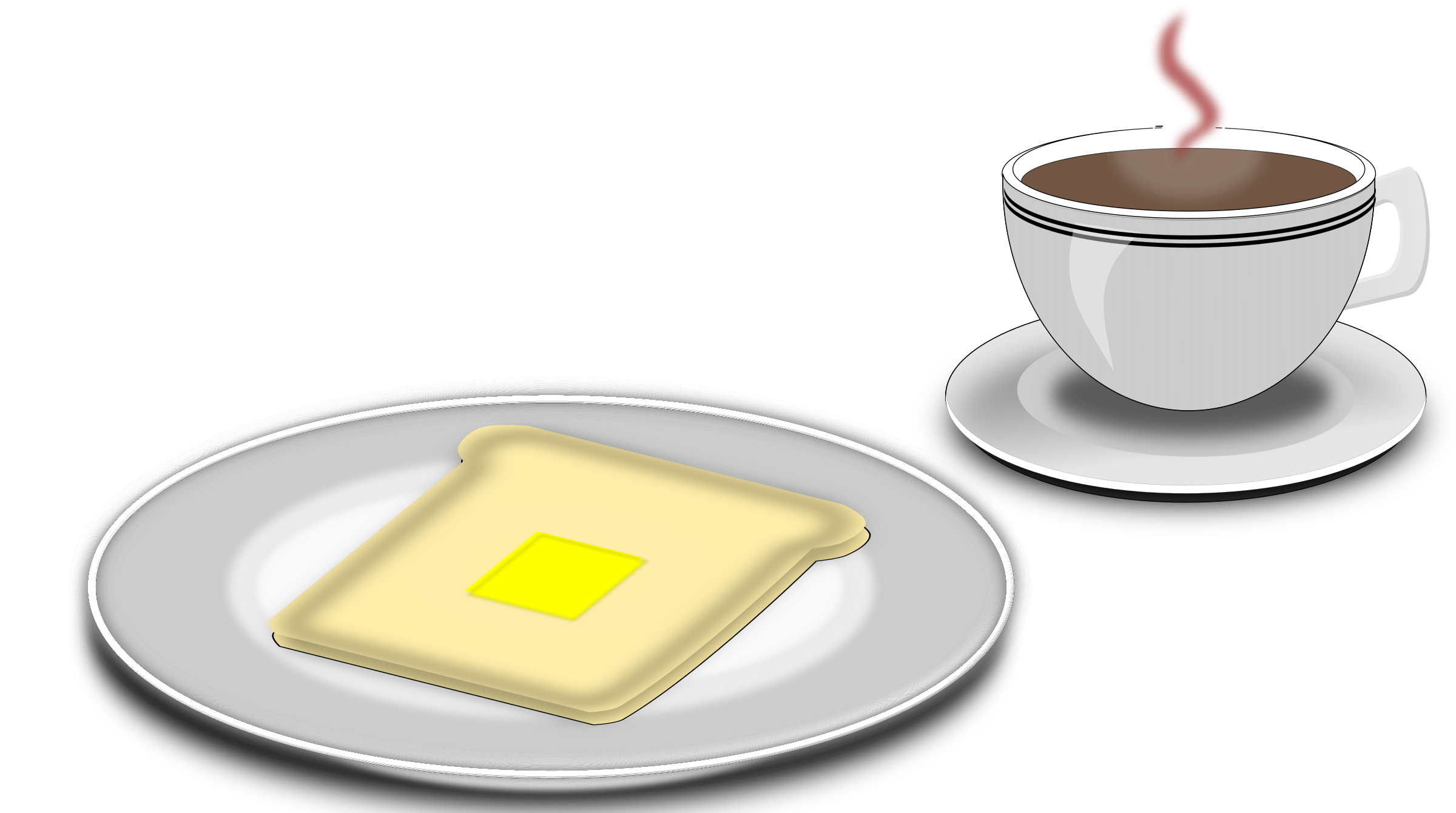 Breakfast big image png. Clipart coffee toast