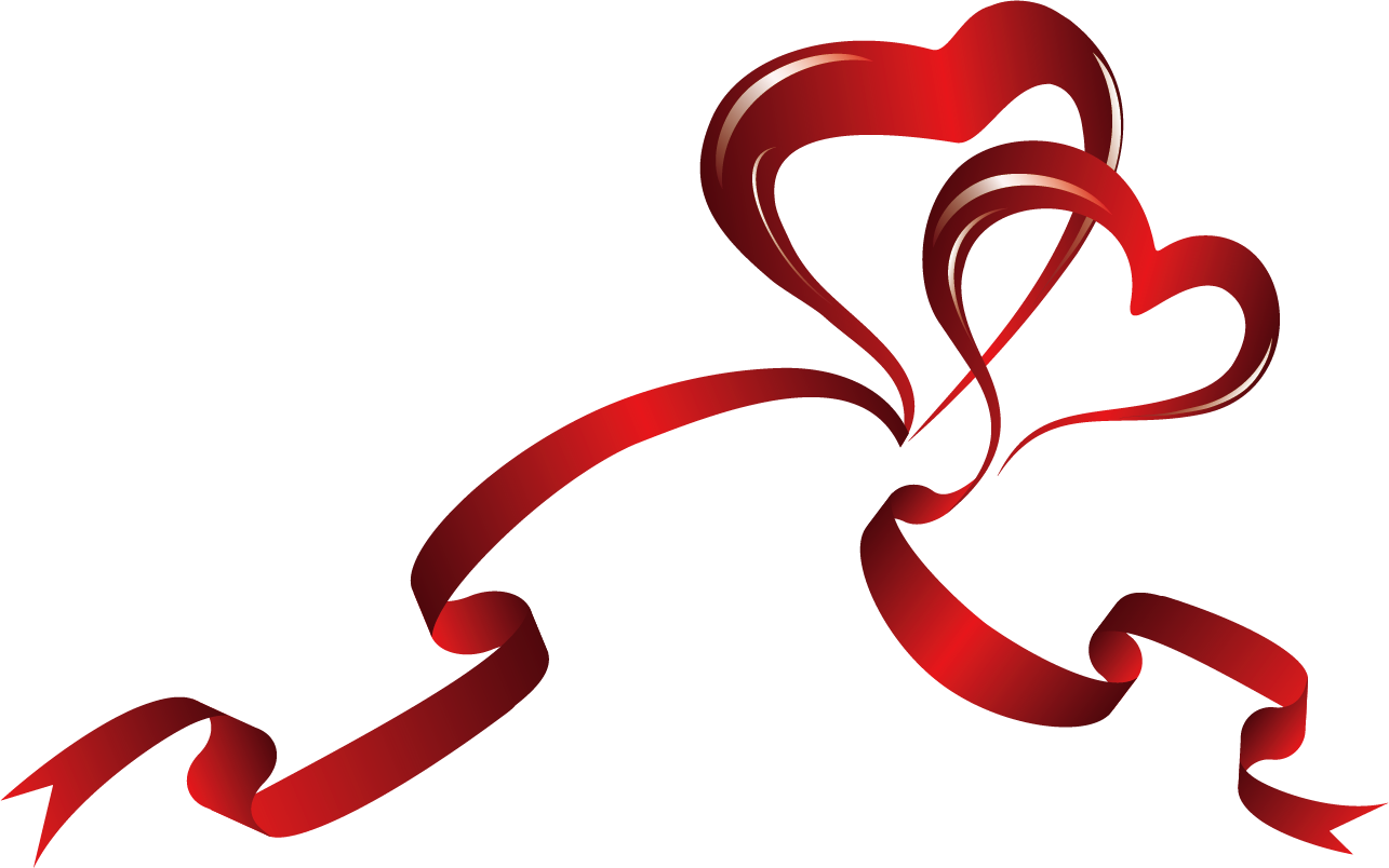 Awareness ribbon heart clip. Clipart coffee valentines day