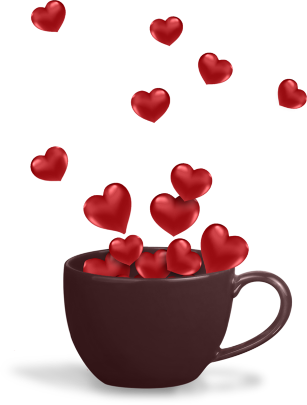clipart coffee valentines day #67808480
