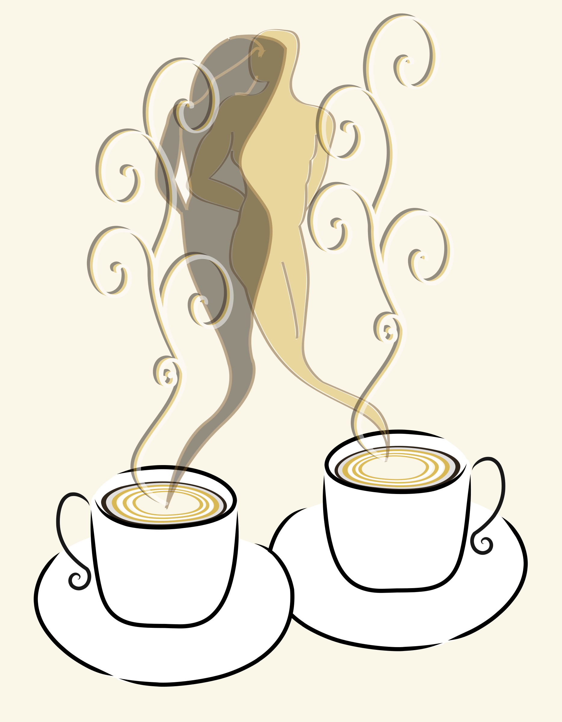 Love free hot graphic. Clipart coffee vector