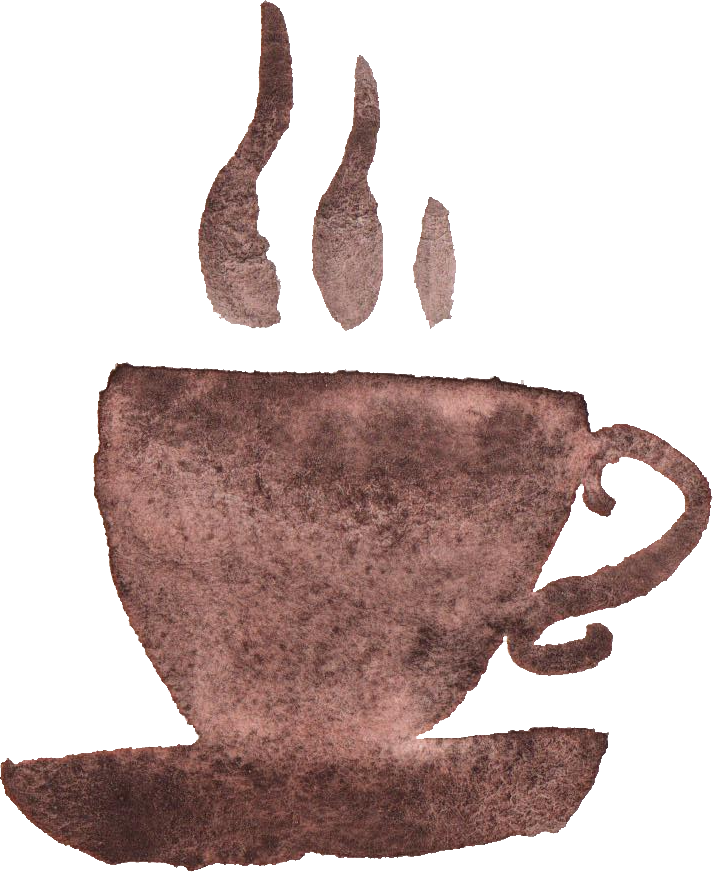 cups png transparent. Clipart coffee watercolor
