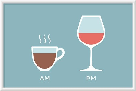 Clipart coffee wine. Cup and glass in