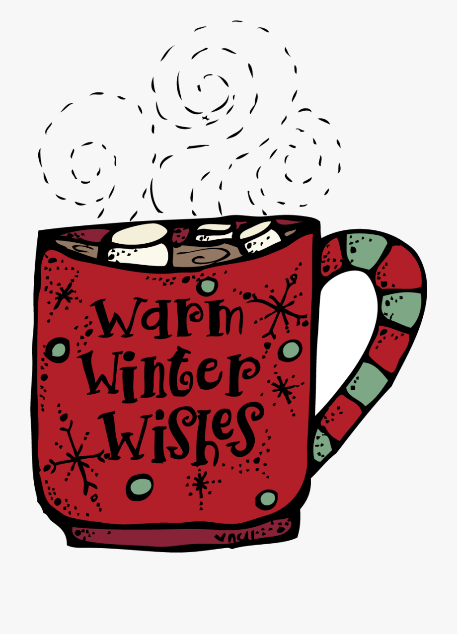 Winter clipart hot chocolate. December