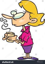 Image result for drinking. Coffee clipart woman