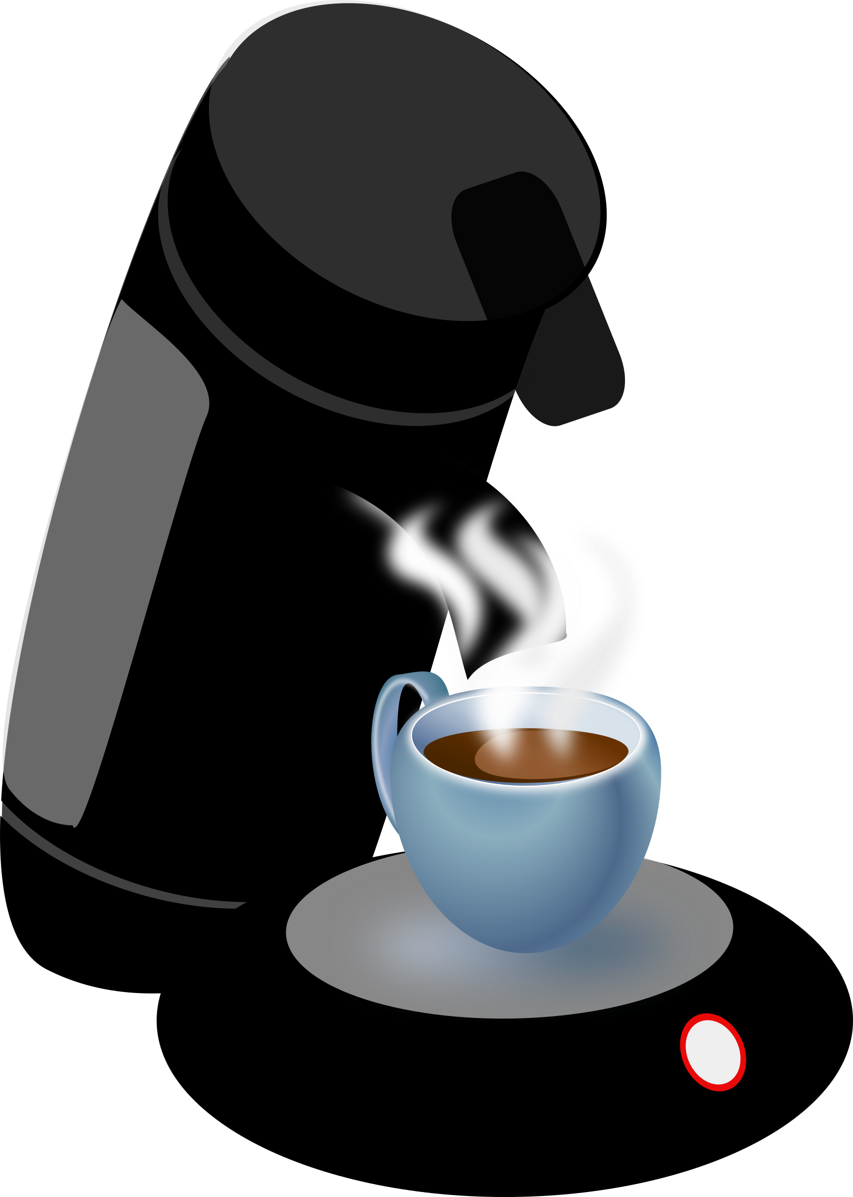 Clipart coffee woman. Machine big image png