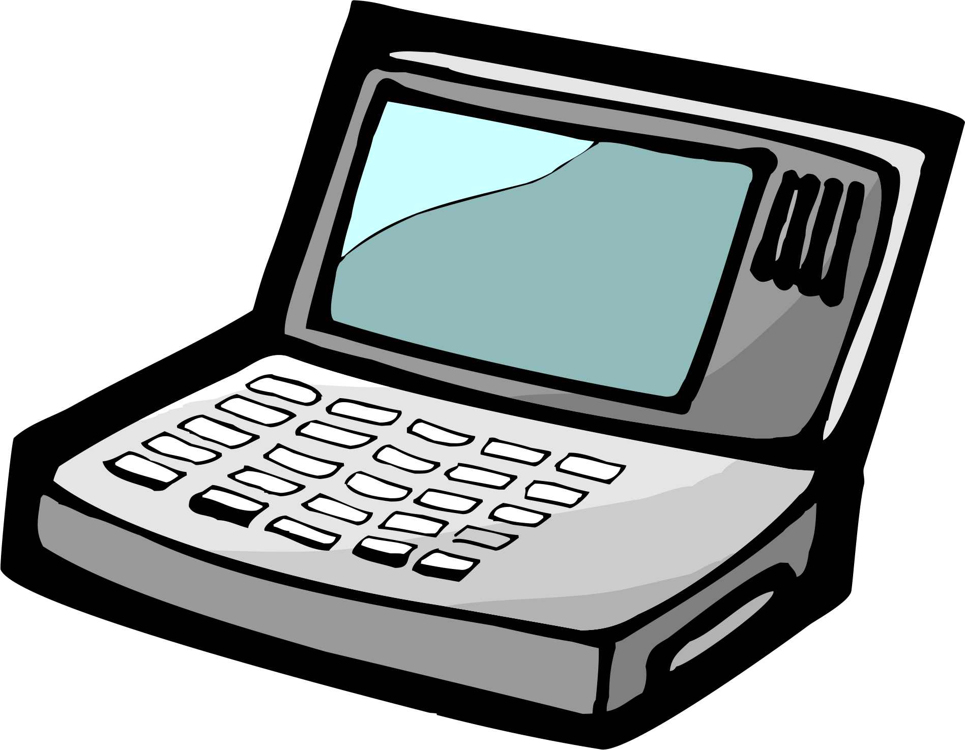 Cartoon drawing at getdrawings. Clipart computer animated