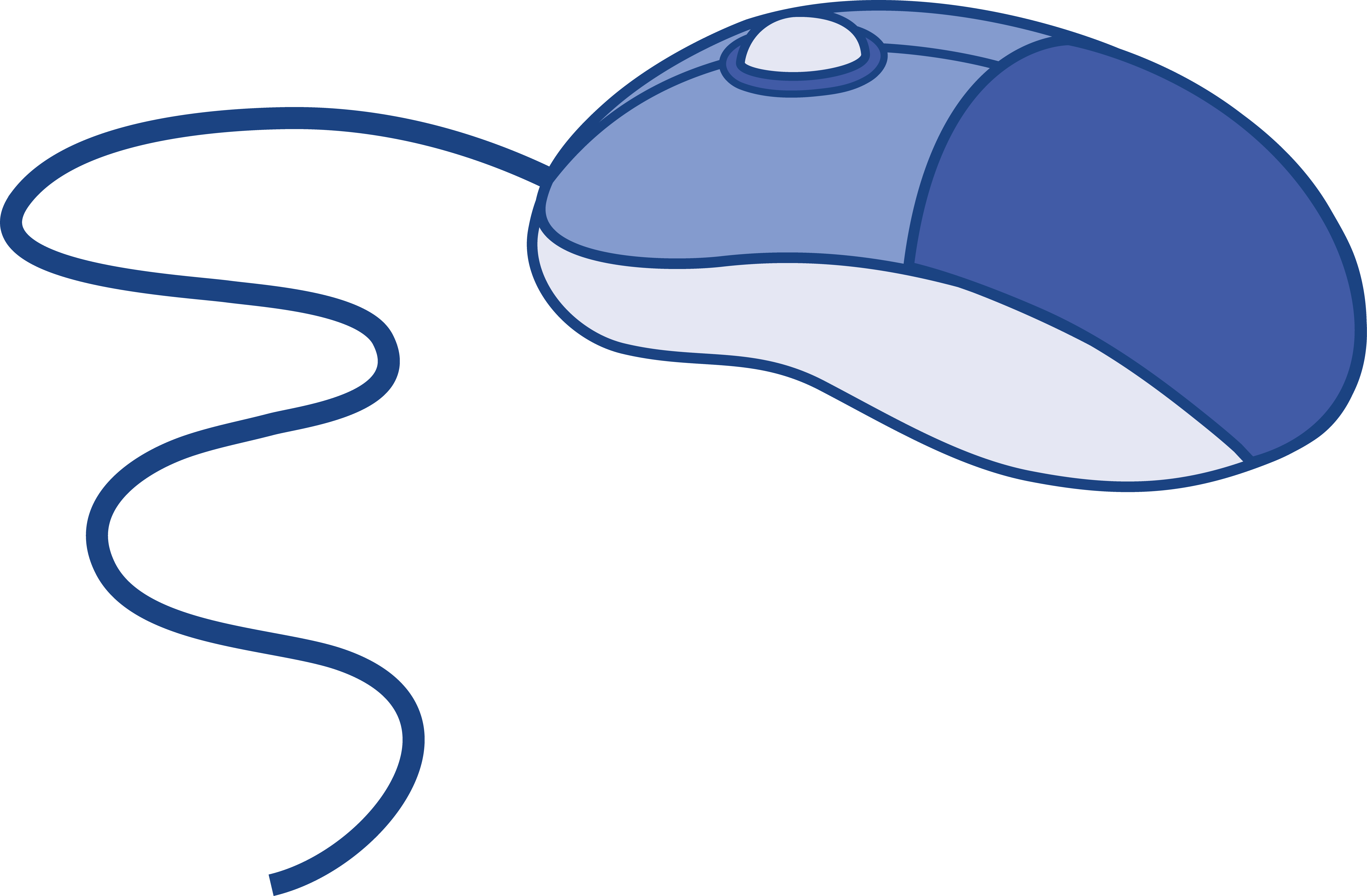 Clipart mouse laboratory. Blue computer free clip