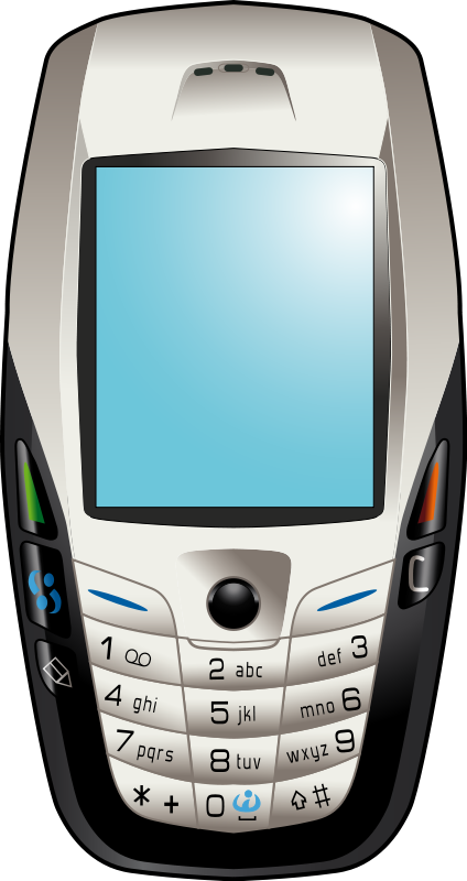 Phone clipart mobile phone. Iphone cell panda free