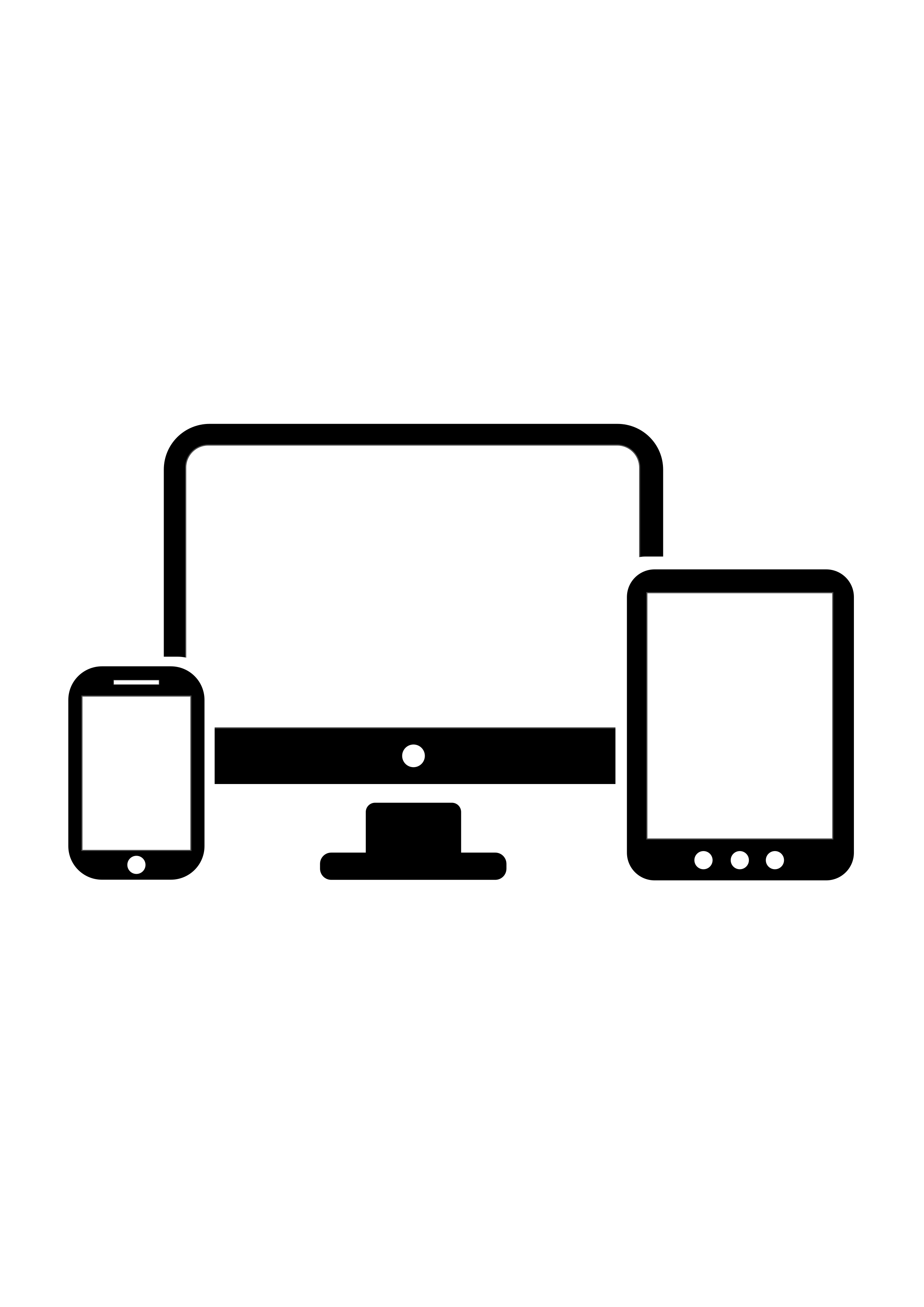 pc clipart mobile tablet