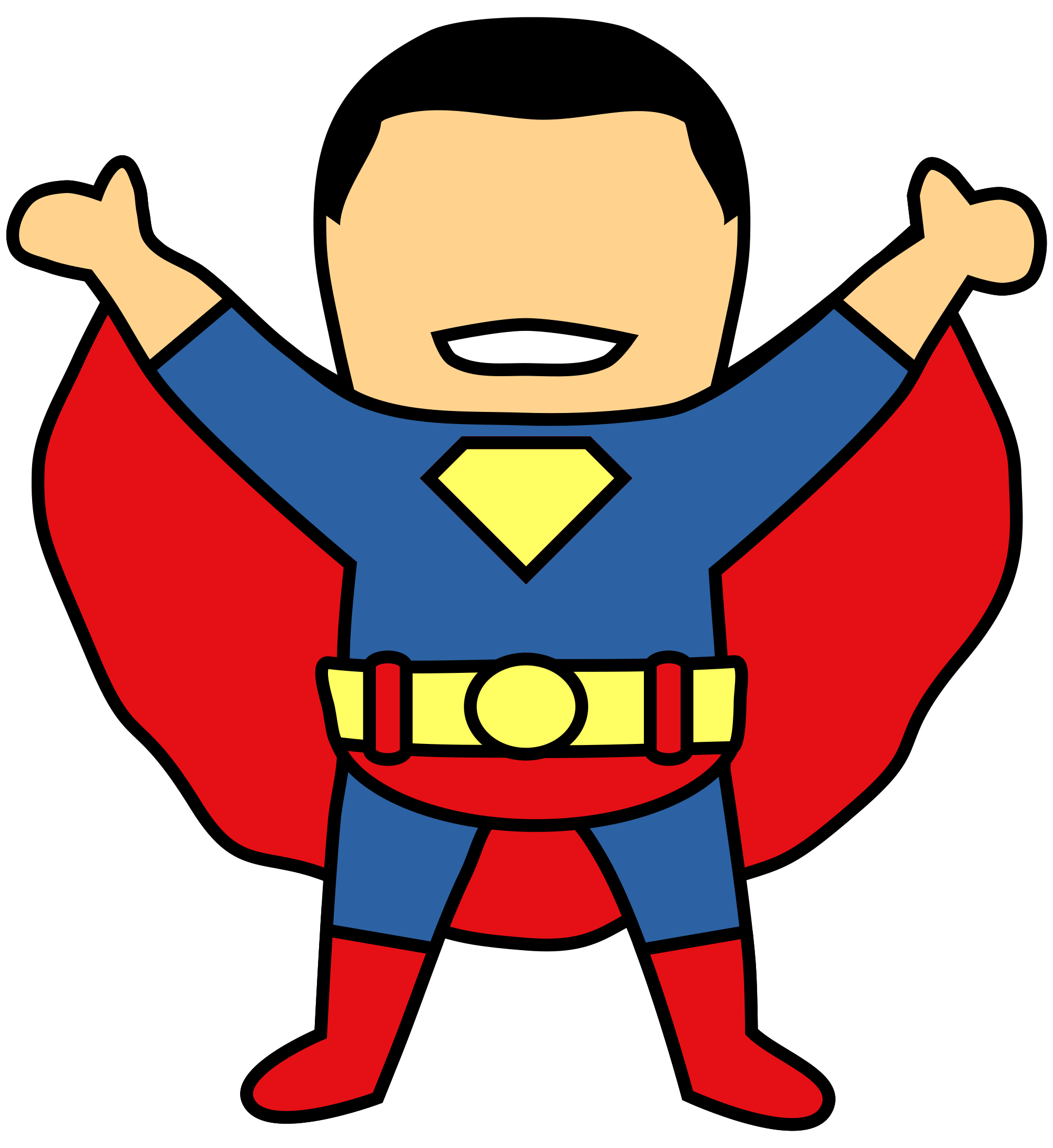 File superman svg wikimedia. Telephone clipart old fashioned telephone