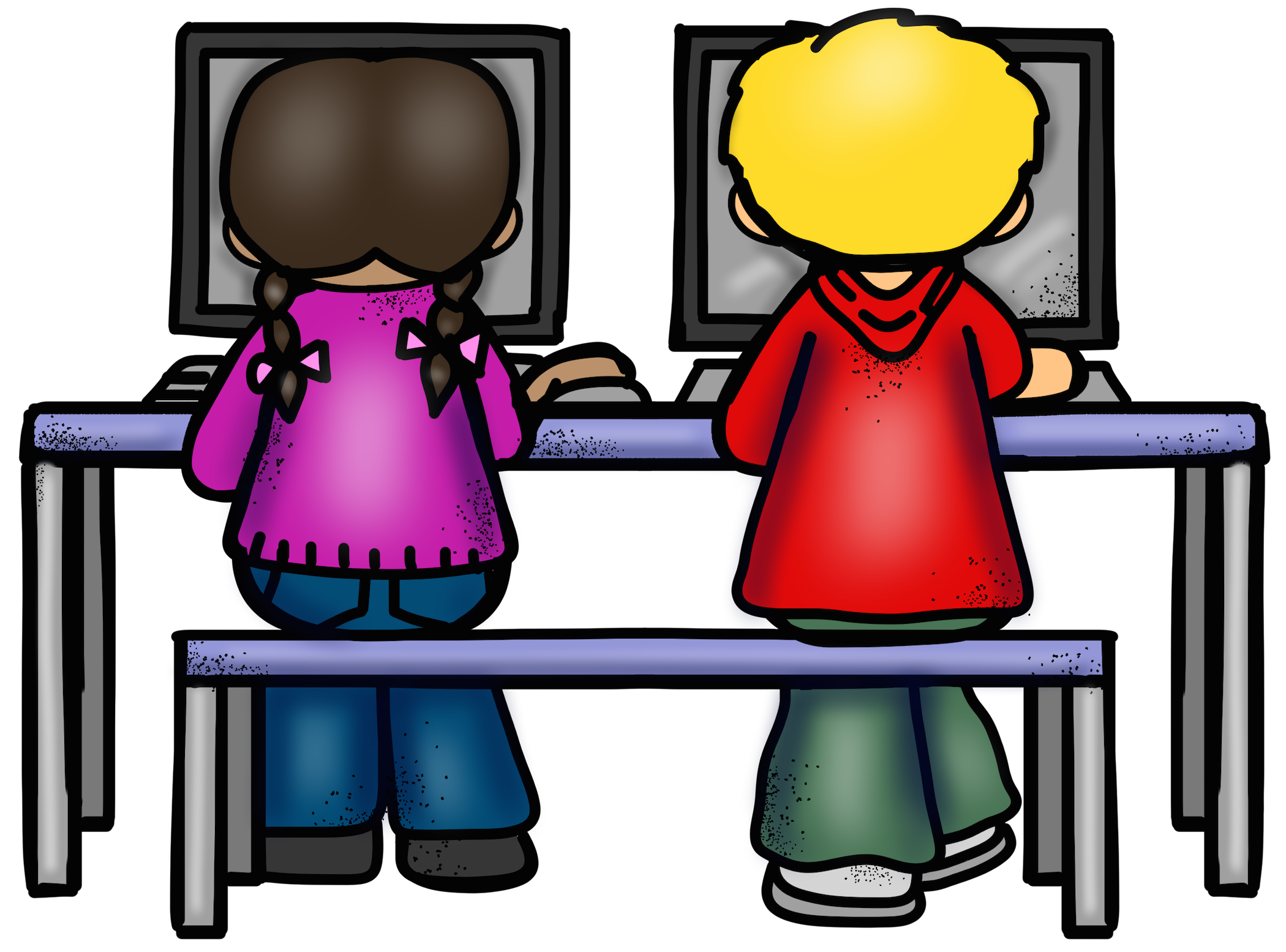 Preschool clipart computer. Lab free download best