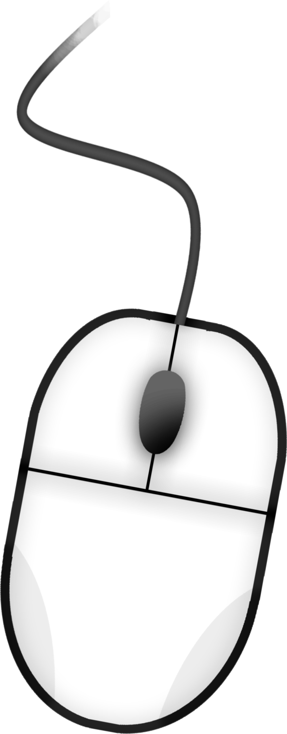 Clipart computer coloring.  collection of mouse