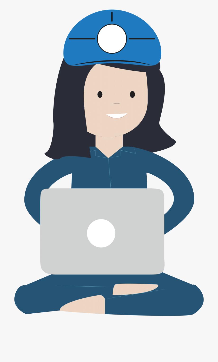 Female . Engineer clipart computer engineer