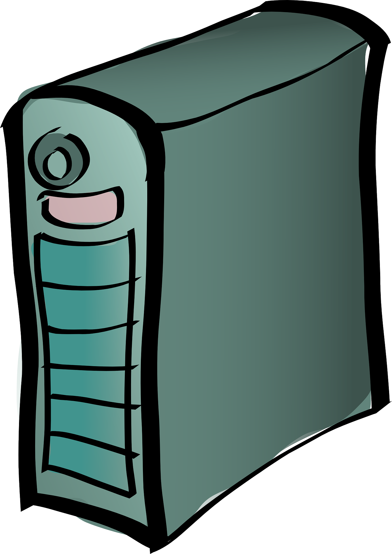 File scribley pc clip. Clipart computer computer workstation