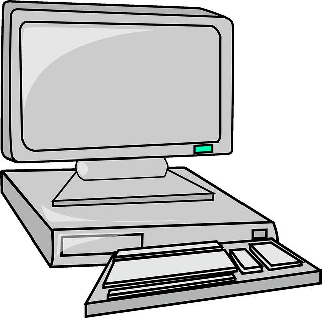 Clipart computer computer workstation. Jokingart com images free