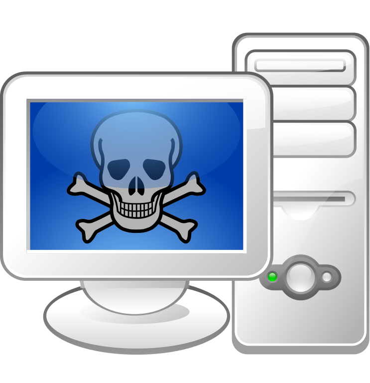 Website clipart first computer. File malware logo svg