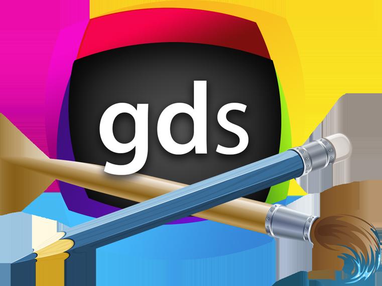 Graphic design studio mac. Computers clipart designer