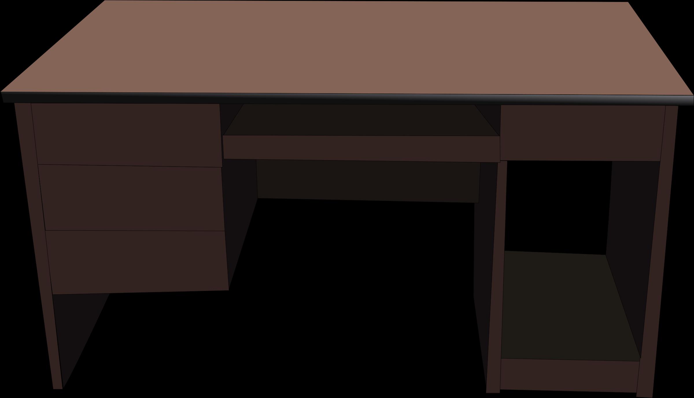 Desk clear desk