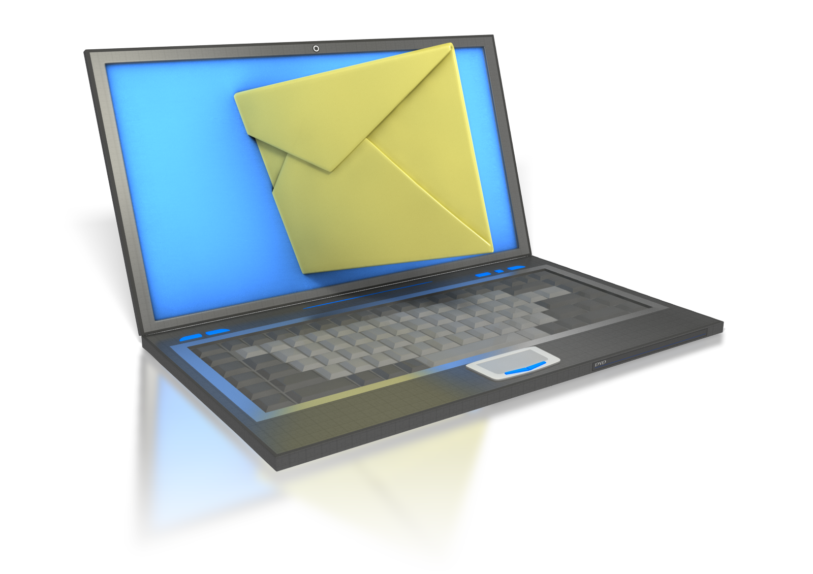 Email attachment best practices. Employee clipart computer