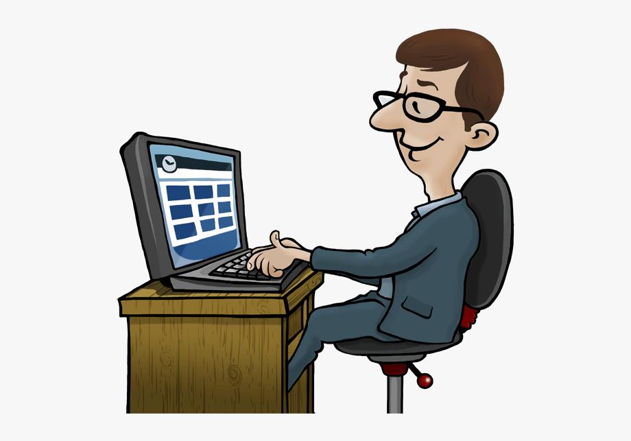 Employee clipart computer. Free monitoring software for