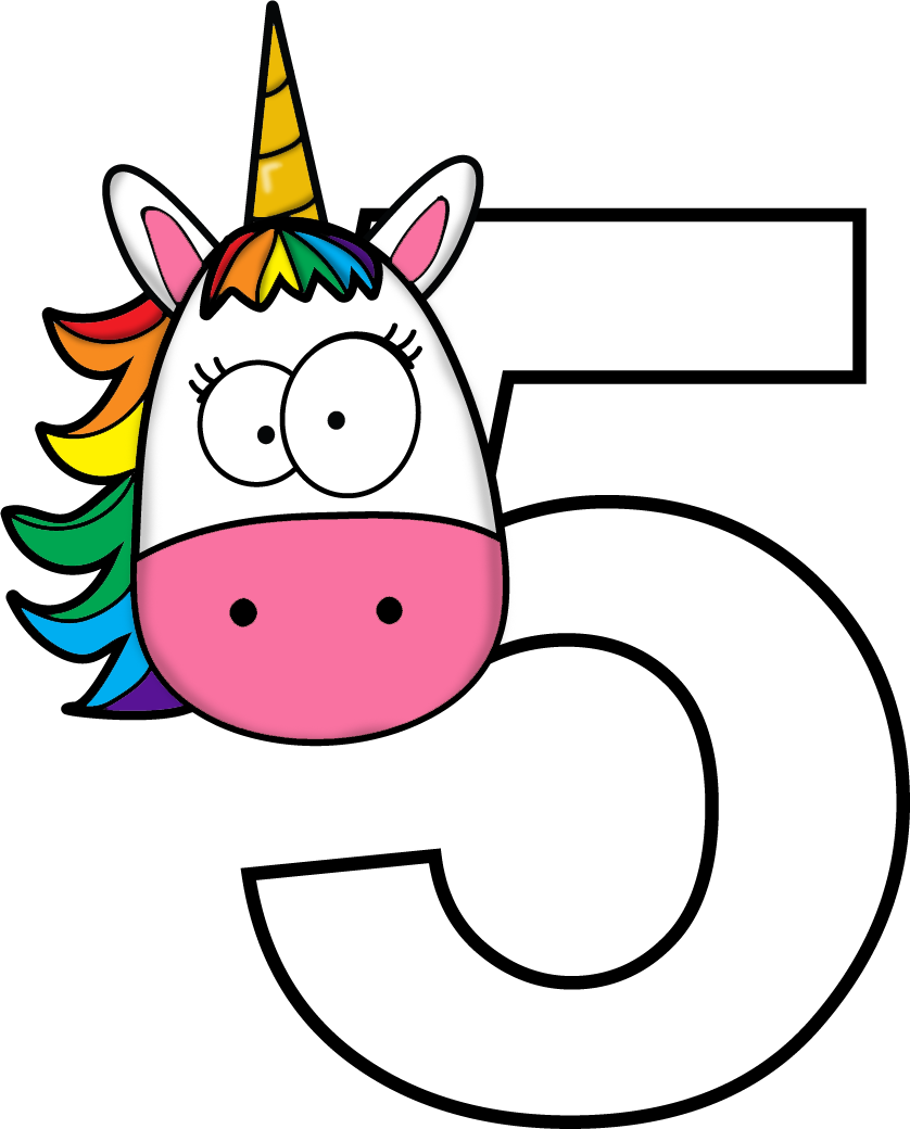 numeros pinterest unicorns. Excited clipart party horn