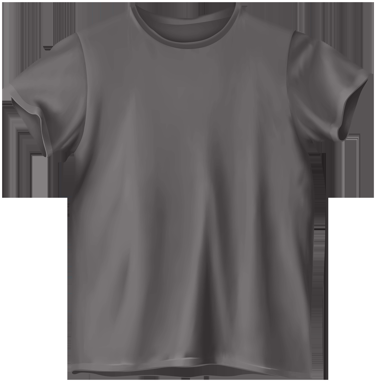 Grey t shirt png. Neck clipart transparent
