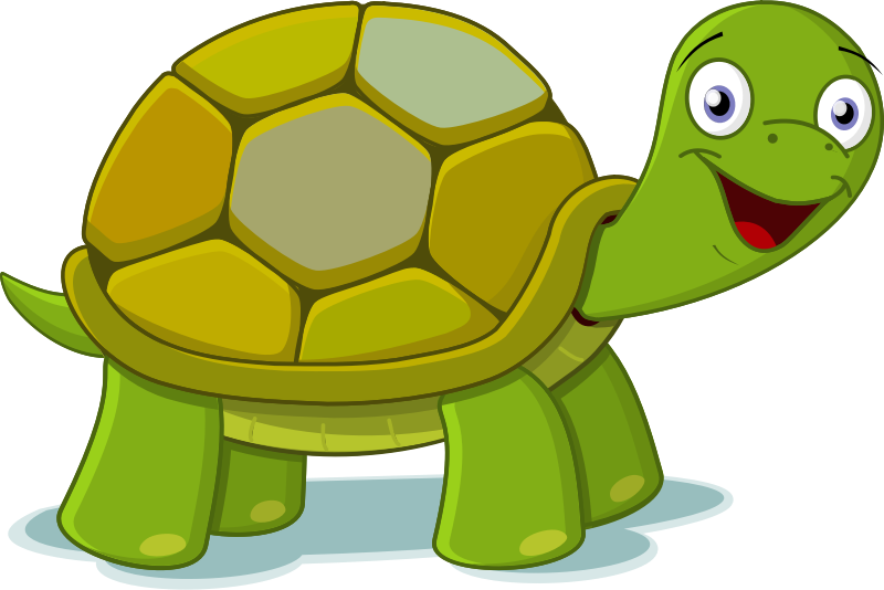 Clipart computer happy. Turtle free to use